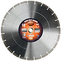 Heavy Duty Orange High Speed Diamond Blades