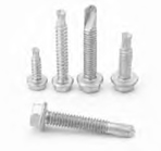 Alumi-Flex™ 302 (18-8) Stainless Steel Drill Screws