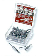 ITW Red Head Self-Threading Plastic Drywall Anchors