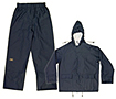 CLC Rain Gear 3 Piece Blue Rainsuit 0.40 mm